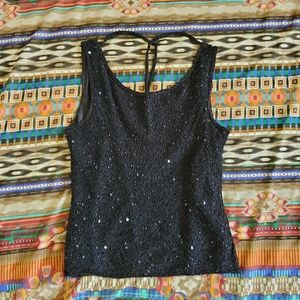Patra Petite beaded evening top
